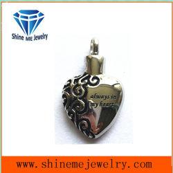 316L de Juwelen van de Tegenhanger van de Vorm van het Hart van het roestvrij staal