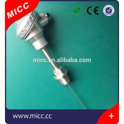 مسبار MICC Industrial RTD مع رأس حماية مزدوجة حرارية من الألومنيوم