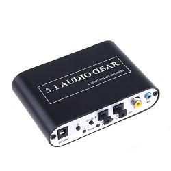 5.1 Décodeur audio numérique à analogique