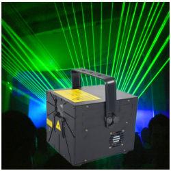 ضوء ليزر محترف عالي الجودة باللون الأخضر بقدرة 10 واط