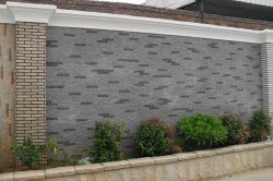 Для использования внутри помещений и на улице белого или серого цвета/красный/черный/желтым гранитом/Slate/цемента гранитной стене каменные стены рок культуры камня