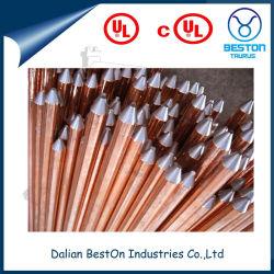 UL-aufgeführtes Kupfer geklebter Stahlbodenrod