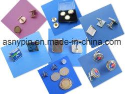 Kundenspezifische Metallleerzeichen-Manschettenknopf-Ansammlung