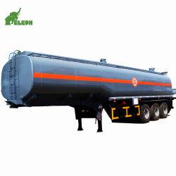 Eixo 3 40000L caminhão tanque de óleo combustível do tanque de combustível usado do Reboque