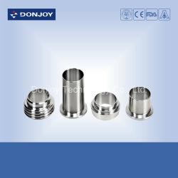 Raccord de flexible en acier inoxydable 316L soudées