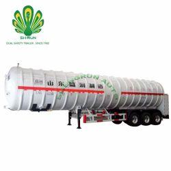 De aço inoxidável de alto padrão de GNL trailer do Tanque do vaso de pressão