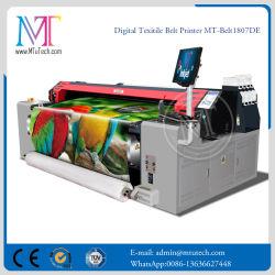 면직물 실크용 1.8 미터 디지털 직물 프린터 벨트 프린터