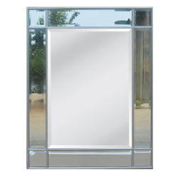 Populares gran pared de cristal colgando del espejo Decoración