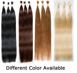 Haarstückchen Mit Geradem Haarspulz Haarspelzen-Haarweebelverlängerung