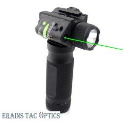 T6 600内腔LEDの軽いトーチが付いている新しく戦術的な柄の緑レーザーの懐中電燈