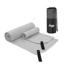 De hoogst Absorberende Gymnastiek van de Handdoek van het Golf van de Sporten van Microfibre van het Af:drukken van de Sublimatie van de Streep
