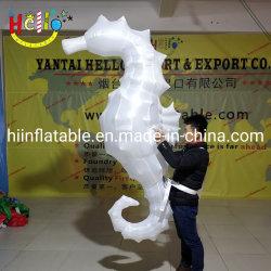 Ozean-Ereignisaufblasbares Seahorse-Kostüm-aufblasbares Seetier-Kostüm für Erwachsene