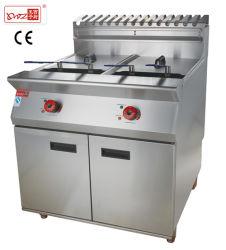 Doppia friggitrice elettrica/friggitrice per pollo/macchina per alimenti