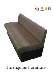 أريكة على جانب واحد لتناول الطعام من الجلد منخفض الظهر بحزب PU (HD943)