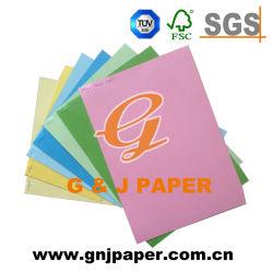 La escritura de venta al por mayor de la tarjeta de papel de colores de impresión