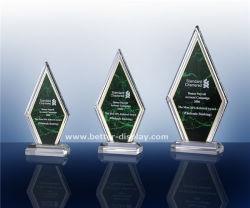 Kundenspezifischer Acrylkristalltrophäe-Leerzeichen-Entwurf