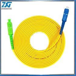 Sc pós-Sc Upc 3m modo Simplex fiber optic patch cord 2,0mm ou 3,0mm FTTH Council Patchcord Óptico Cabo de ligação do cabo de fibra óptica