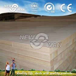 Blockboard commerciale pour le mobilier (peuplier, pin, Paulownia, Malacca)