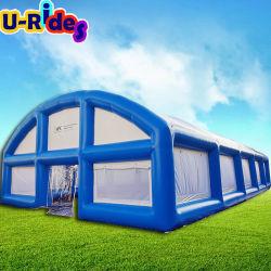 Custom air gonflable serrés tente pour terrain de jeux extérieur