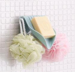 All-Purpose chuveiro de plástico com o titular de sabão com ganchos de sabão