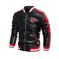 Лучшая цена молнией куртка из натуральной кожи для использования вне помещений мужчин мотоцикла нанесите на одежде теплую одежду Китая на заводе
