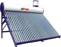Revestimento de pulverização aquecedor solar de água de plástico (SPR 50-300 L)