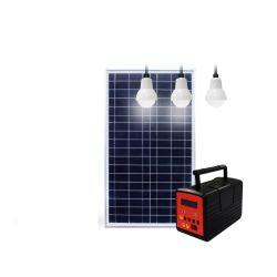 SolarhauptStromnetz 20W mit LED-heller Lampe und Hauptbeleuchtung-Installationssätze mit Solar Energy Panel-System