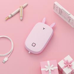 휴대용 힘 은행을%s 가진 재충전용 USB 손 온열 장치