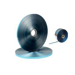 Simple face ruban aluminium-polyester le tiroir de commande de l'emballage avec la couleur bleue pour blindage des câbles