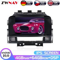 Px6 de Androïde 10.0 64G Speler van Auto DVD voor Opel Astra J 2010 2011 2012 2013 GPS van CD300 CD400 2 DIN de Radio van de Navigatie