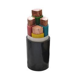 Mittleres Niederspannungs-Gebäude-obenliegendes elektrische kabel industrielles gepanzertes XLPE Isolier-Belüftung-Hüllen-Kupfer-Aluminium-elektrischer Draht-Energien-Stahltiefbaukabel