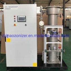 1kg -5 kg generador de ozono industriales con tubo de vidrio especial espacio de aire Ozono y la tecnología de alta tecnología transformador tipo seco