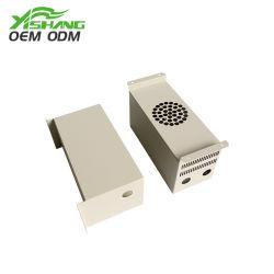 Kast met behuizingen voor elektrische bedieningspanelen voor aangepaste stroomverdeling