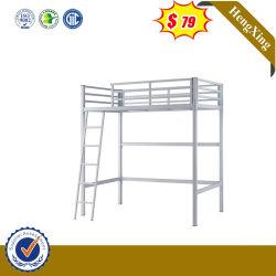 Venda quente moderno mobiliário escolar Metal Dormitório Cama Loft Beliche