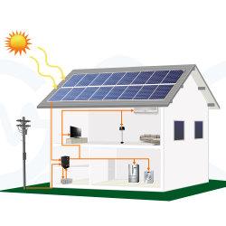 Однофазного гибридный инвертор мощностью 1 Квт Трехфазный блок распределения питания 5Квт 10квт 30квт 50квт 100 квт с контроллера заряда MPPT для солнечной системы