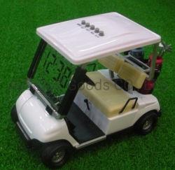 Разнообразные цвета новейших мини-гольф тележки для настольных часов поле для гольфа Дар с ЖК-календарь