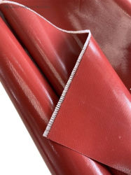고강도 내열 절연 산업용 실리콘 고무 섬유 유리 코팅 직물