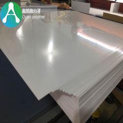 Folha de plástico de PVC branco rígida para furar e válvula de ventilação