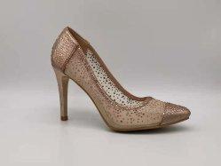 Moda Salto Alto vestir as mulheres a PEEP Toe calçado para senhora