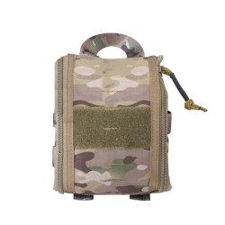 شعار مخصص حقيبة الصدمات طقم الطوارئ الخاص بالإسعافات الأولية لمولر حقيبة الظهر الطبية العسكرية طقم الإسعافات الأولية