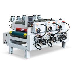 供給のよい光沢の合板MDFのための紫外線ローラーのコーティング装置