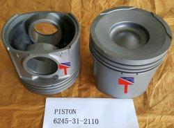 掘削機PC1250-8 Wheelloader Wa600-6エンジンSAA6d170e-5のためのピストン6245-31-2110