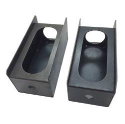 Набор из 2 стальных задних фонарей прицепа крепления защиты топливораспределительной рампы - черный