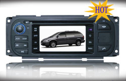 """L'écran numérique de 4,3"""" Grand Voyager Chrysler Jeep Dodge/voiture/DVD-4301 Wigh GPS (UN)"""