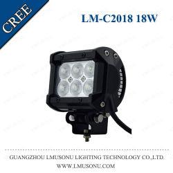 Qualidade de Feixe Lmusonutop Local IP67 Offroad carro SUV Carro de 4,5 polegadas LED da barra de luz 18W