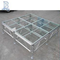 Het openlucht Comité van het Glas van het Aluminium van het Zwembad assembleert Stadium