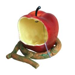 Frutta variopinta dell'azienda agricola del giardino che appende l'alimentatore selvaggio dell'uccello