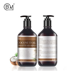 500ml Private Label Nature Virgin Coconut Oil Hair scalp Massage Shampoo