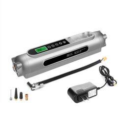 Presse automatique sans fil DC12V rechargeable avec avertissement d'urgence par LED Éclairage pneumatique gonfleur pneumatique gonfleur numérique pour voitures