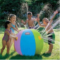 Plage de plein air de l'eau gonflable Ball Balle de pelouse nager jouet de bain